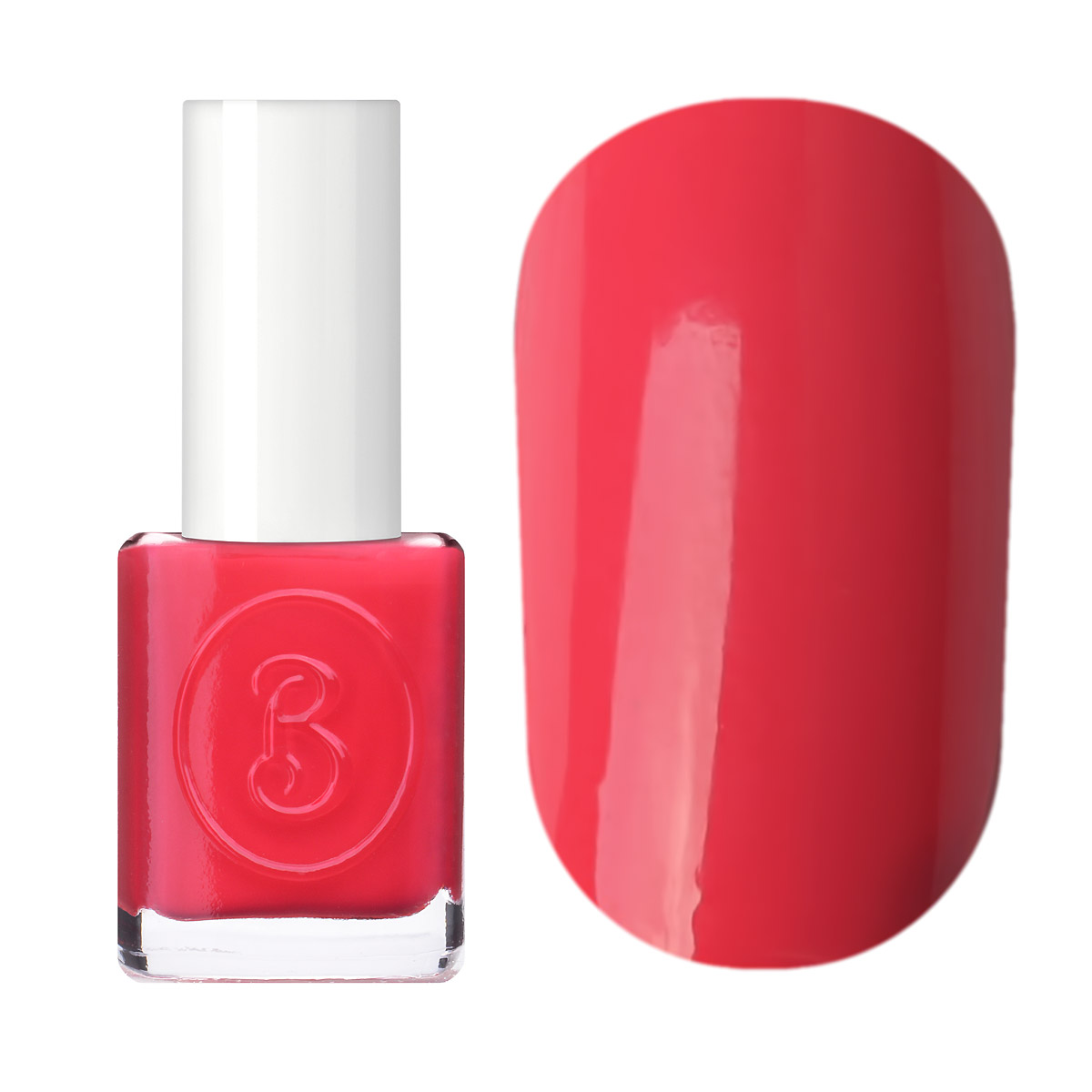Berenice Oxygen Nail Polish / 14 coral beads