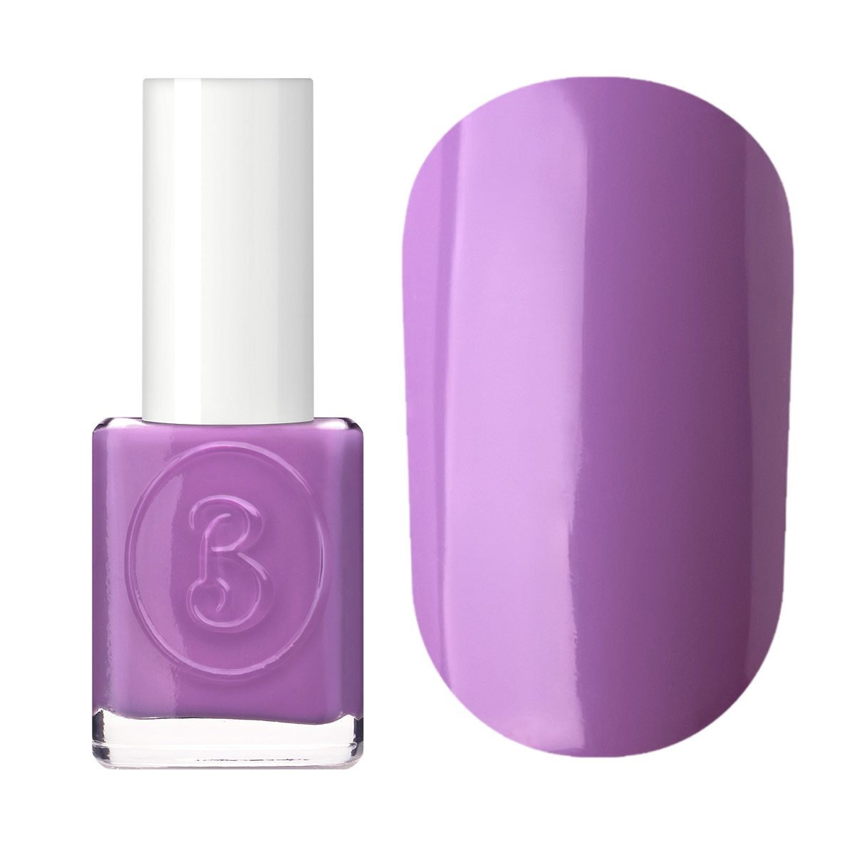 Berenice Oxygen Nail Polish / 18 light violet