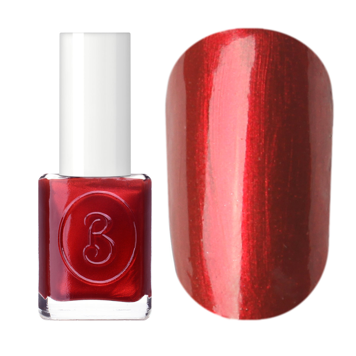 Berenice Oxygen Nail Polish / 28 red fire
