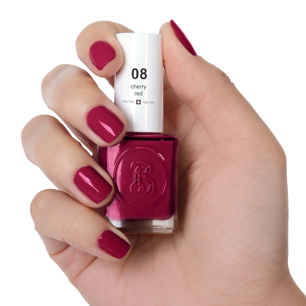 Berenice Oxygen Nail Polish / 08 cherry red