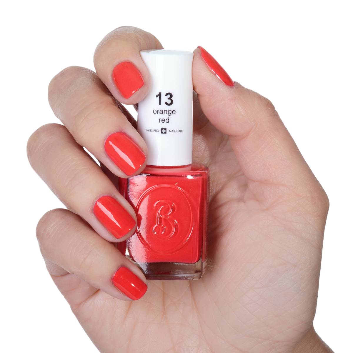 Berenice Oxygen Nail Polish / 13 orange red