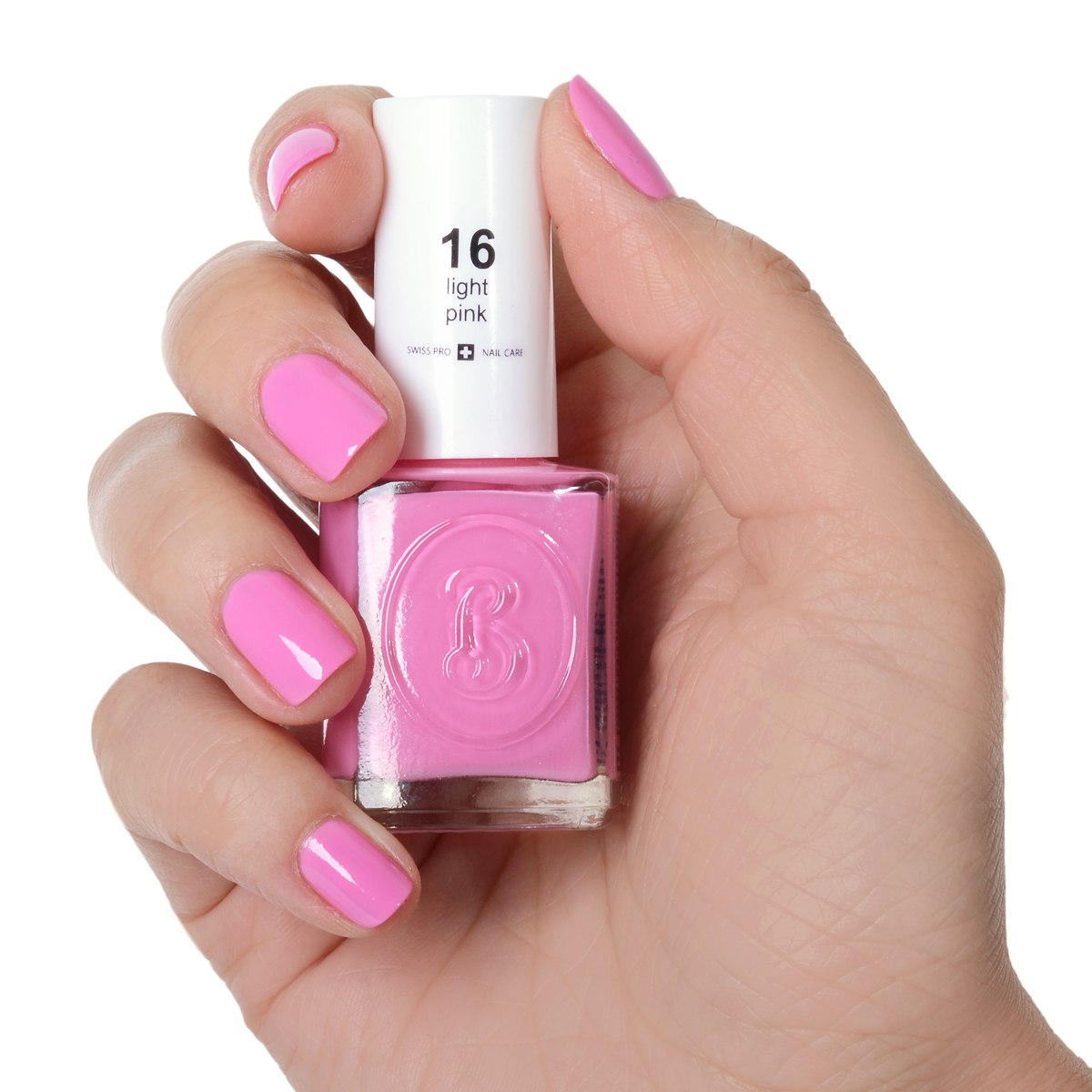 Berenice Oxygen Nail Polish / 16 light pink