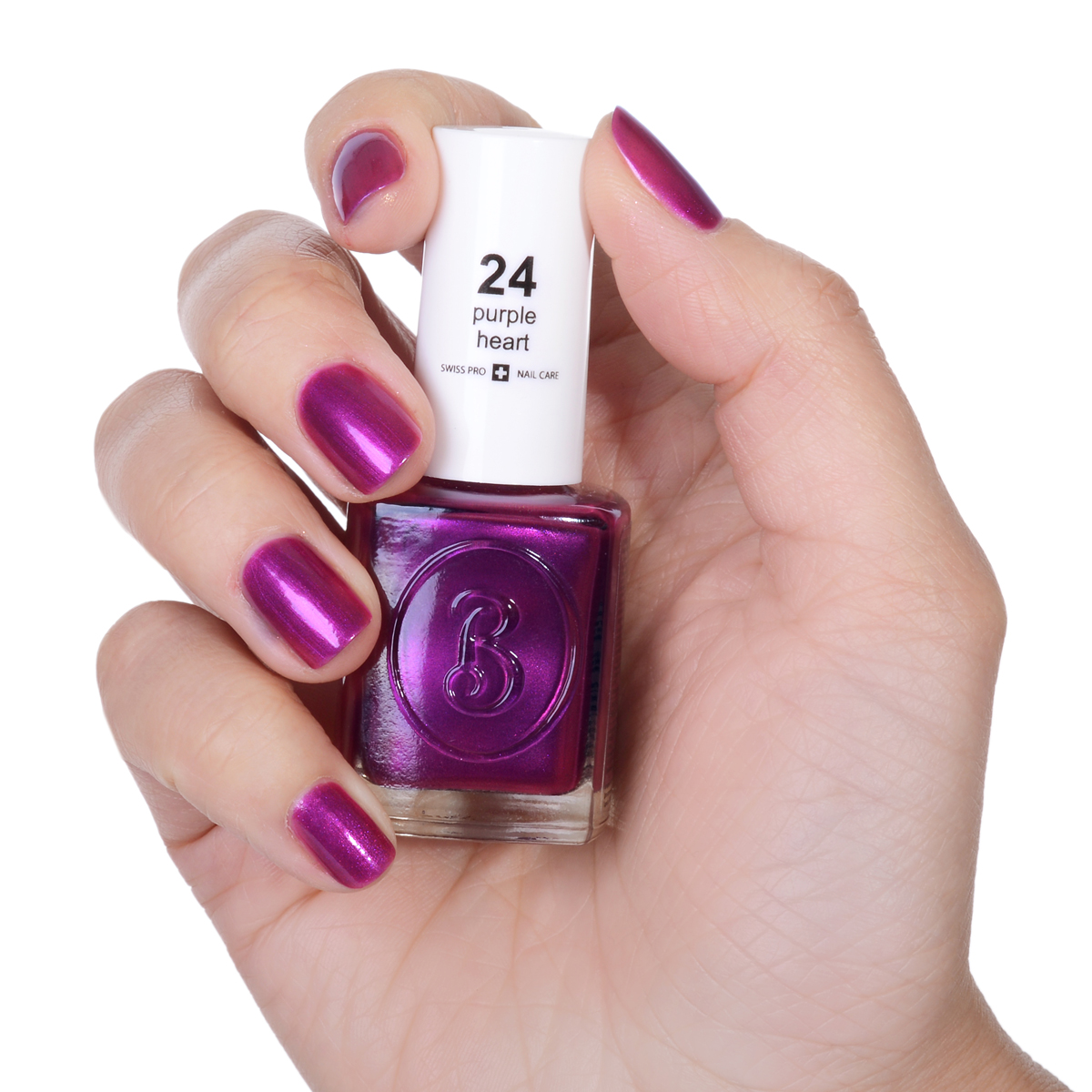 Berenice Oxygen Nail Polish / 24 purple heart