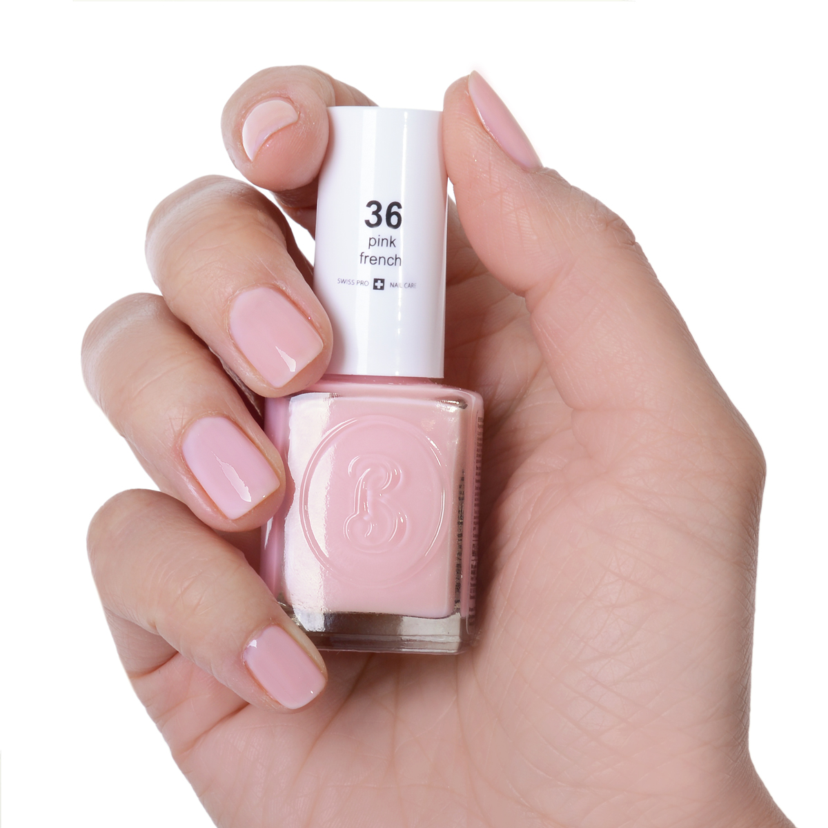 Berenice Oxygen Nail Polish / 36 pink french
